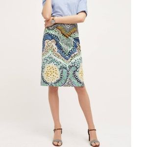 Anthropologie Moulinette Soeurs arabella skirt 4